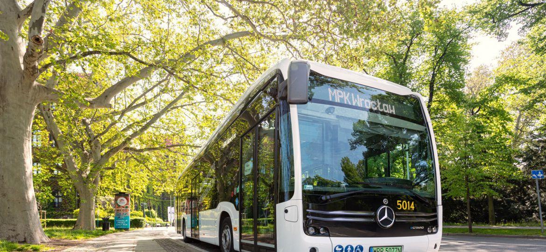 Testy MPK elektryczny Mercedes